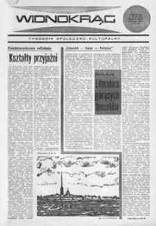 Widnokrąg : tygodnik społeczno-kulturalny. 1969, nr 45 (8 listopada)