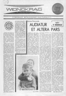 Widnokrąg : tygodnik społeczno-kulturalny. 1969, nr 47 (22 listopada)