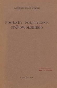 Poglądy polityczne Starowolskiego