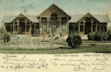 Jarosław. Pawilon ogrodu miejskiego - Stadtpark-Pavillon [Widokówka z obiegu]