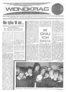 Widnokrąg : tygodnik społeczno-kulturalny. 1970, nr 47 (21 listopada)