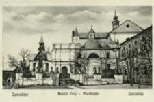Jarosław. Kościół Fary = Jaroslau. Pfarrkirche [Pocztówka]