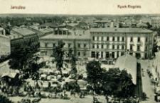 Jarosław. Rynek - Ringplatz [Fotowidokówka z obiegu]