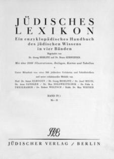 Jüdisches Lexikon : ein enzyklopädisches Handbuch des jüdischen Wissens in vier Bänden. Bd. 4/1, Me-R