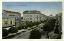Jarosław - Ul. Grunwaldzka [Widokówka z obiegu]