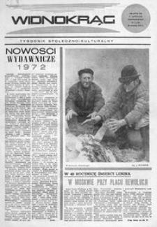 Widnokrąg : tygodnik społeczno-kulturalny. 1972, nr 3 (22 stycznia)