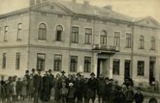 Towarzystwo Zaliczkowe w Dubiecku [Pocztówka]
