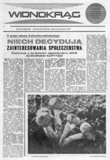 Widnokrąg : tygodnik społeczno-kulturalny. 1972, nr 40 (7 października)