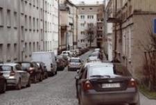 Ul. Baldachówka ze skrzyżowania z ul. Króla Kazimierza [Fotografia]