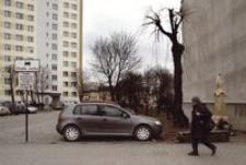 Ul. Księdza Jałowego. Parking wyłącznie dla mieszkańców [Fotografia]