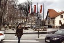 Ul. Moniuszki, pomnik Żołnierzy Wyklętych [Fotografia]