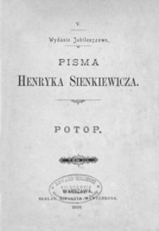 Potop. T. 3 ; Pan Wołodyjowski : powieść historyczna