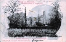 Gruss aus Przemyśl. Schloss Bakonczyce = Pozdrowienie z Przemyśla. Zamek w Bakonczycach [Widokówka z obiegu]