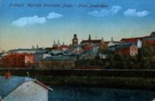 Przemyśl. Wybrzeże Franciszka Józefa - Franz Josefs-Quai [Widokówka czysta]