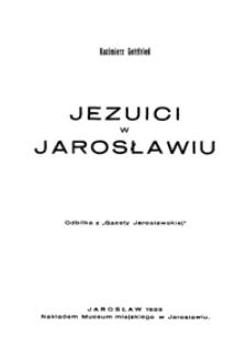 Jezuici w Jarosławiu
