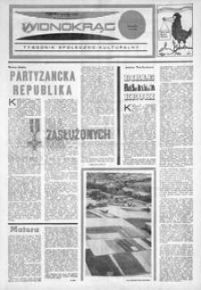 Widnokrąg : tygodnik społeczno-kulturalny. 1973, nr 19 (12 maja)