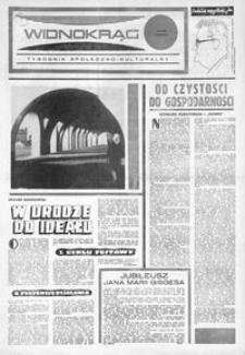 Widnokrąg : tygodnik społeczno-kulturalny. 1974, nr 6 (9 lutego)