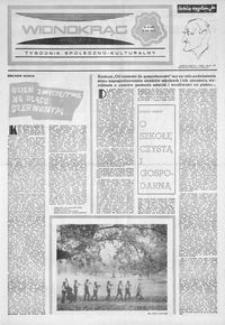 Widnokrąg : tygodnik społeczno-kulturalny. 1974, nr 19 (11 maja)