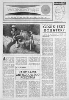Widnokrąg : tygodnik społeczno-kulturalny. 1974, nr 27 (6 lipca)