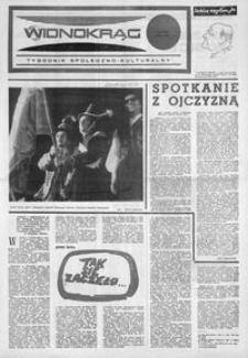 Widnokrąg : tygodnik społeczno-kulturalny. 1974, nr 28 (13 lipca)