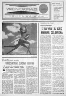 Widnokrąg : tygodnik społeczno-kulturalny. 1974, nr 37 (19 października)