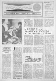 Widnokrąg : tygodnik społeczno-kulturalny. 1974, nr 43 (7 grudnia)