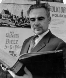 [Ślawski Tadeusz - badacz historii Biecza] [Fotografia]