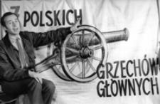 [Monodram Henryka Gońdy, aktora Teatru im. Wandy Siemaszkowej w Rzeszowie] [Fotografia]