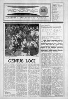 Widnokrąg : tygodnik społeczno-kulturalny. 1984, nr 22 (29 maja)