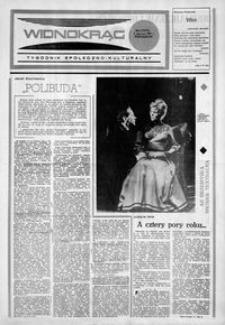 Widnokrąg : tygodnik społeczno-kulturalny. 1984, nr 23 (6 czerwca)