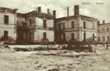 Nisko - Ratusz [Fotowidokówka czysta]