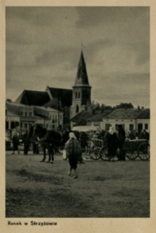 Rynek w Strzyżowie [Pocztówka]