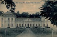 Pałac Ordyn. X. X. Czartoryskich w Sieniawie [Widokówka z obiegu]