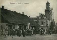 Radymno - Rynek - Ringplatz [Pocztówka]
