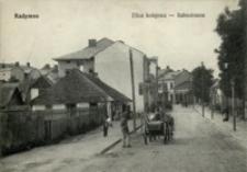 Radymno. Ulica kolejowa - Bahnstrasse [Pocztówka]