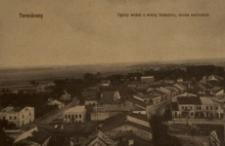 Tarnobrzeg. Ogólny widok z wieży klasztoru, strona wschodnia [Pocztówka]