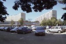 Osiedle Pułaskiego - parking przy basenie [Fotografia]