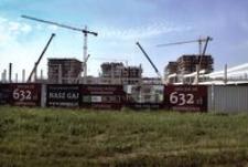 Al. Powstańców Warszawy - Osiedle Nasz Gaj w budowie [Fotografia]