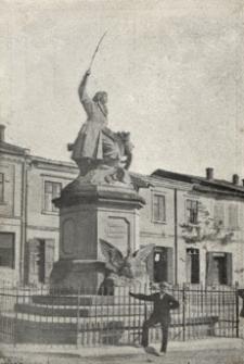 Tarnobrzeg. Pomnik Bartosza Głowackiego [Pocztówka]