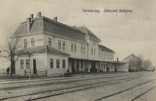Tarnobrzeg. Dworzec kolejowy [Pocztówka]