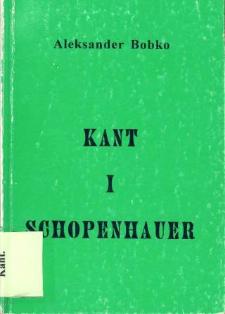 Kant i Schopenhauer : między racjonalnością a nicością
