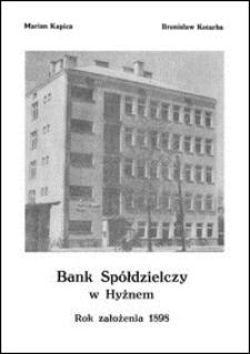 Bank Spółdzielczy w Hyżnem