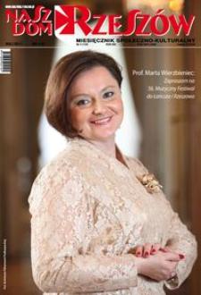 Nasz Dom Rzeszów : miesięcznik społeczno-kulturalny. 2017, R. 13, nr 5 (maj)