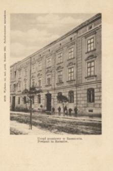 Urząd pocztowy w Rzeszowie. Postamt in Rzeszów [Pocztówka]