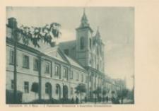 Rzeszów. Ul. 3 Maja – I Państwowe Gimnazjum z Kościołem Gimnazjalnym [Pocztówka]