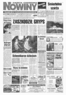 Nowiny : gazeta codzienna. 1999, nr 105-125 (czerwiec)
