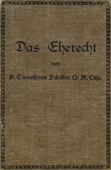 Das Eherecht nach dem Codex Iuris Canonici