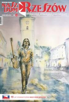 Nasz Dom Rzeszów : miesięcznik społeczno-kulturalny. 2018, R. 14, nr 4 (kwiecień)