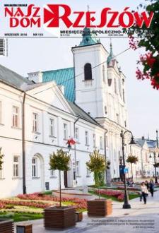 Nasz Dom Rzeszów : miesięcznik społeczno-kulturalny. 2018, R. 14, nr 9 (wrzesień)