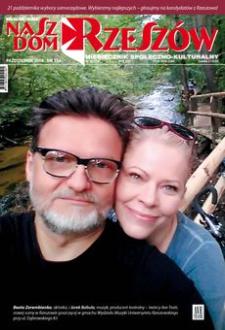 Nasz Dom Rzeszów : miesięcznik społeczno-kulturalny. 2018, R. 14, nr 10 (październik)